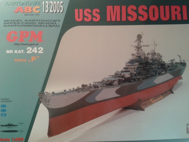 USS Missouri GPM 1:200 20151210
