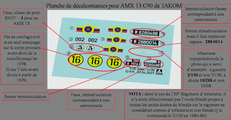 chenilles - AMX 13 Canon de 90 : autopsie de la maquette TAKOM - Page 2 000_cr10
