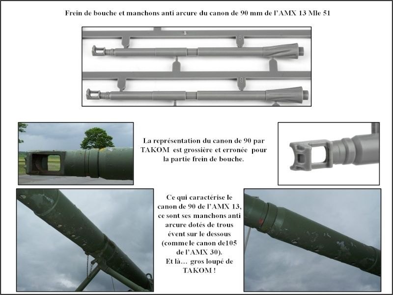 chenilles - AMX 13 Canon de 90 : autopsie de la maquette TAKOM 000_cr12