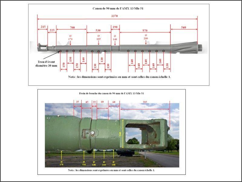 chenilles - AMX 13 Canon de 90 : autopsie de la maquette TAKOM 000_cr13