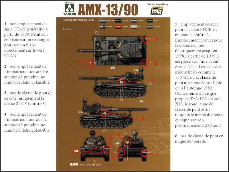chenilles - AMX 13 Canon de 90 : autopsie de la maquette TAKOM 000_cr15