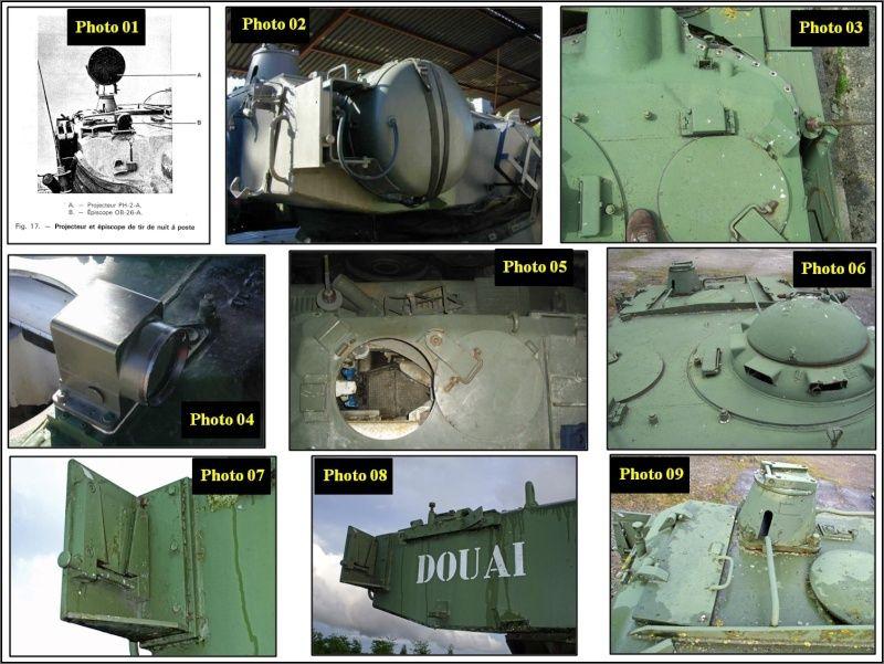 chenilles - AMX 13 Canon de 90 : autopsie de la maquette TAKOM 000_cr17