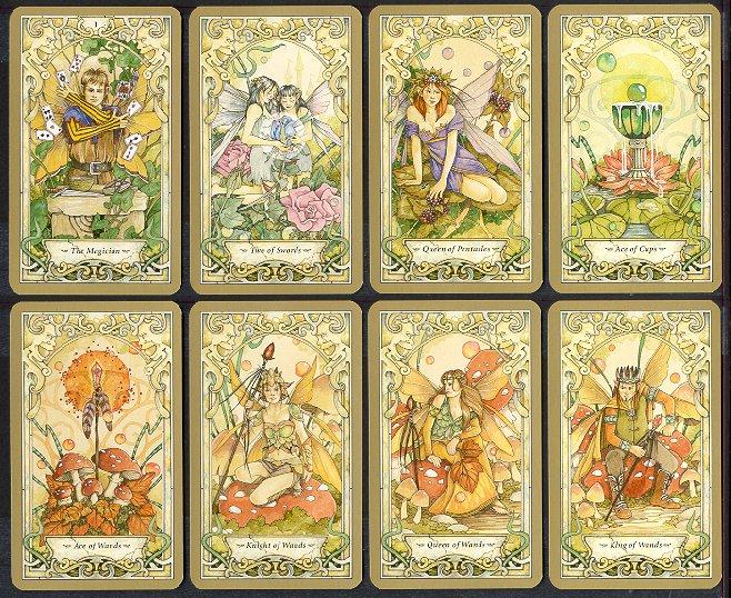 [Fiche jeu] Tarot ésotérique du monde des fées  Cards_10