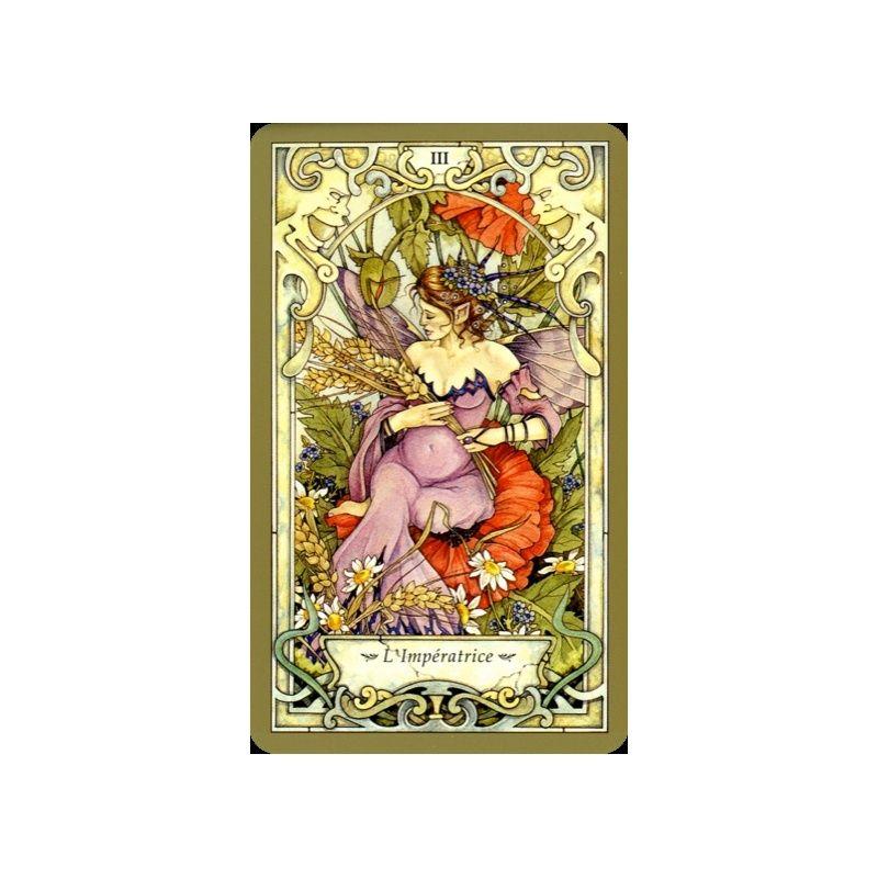 [Fiche jeu] Tarot ésotérique du monde des fées  La_vra10