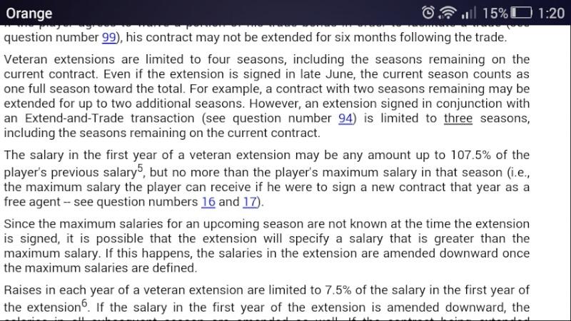 Extensiones de contrato  Screen10