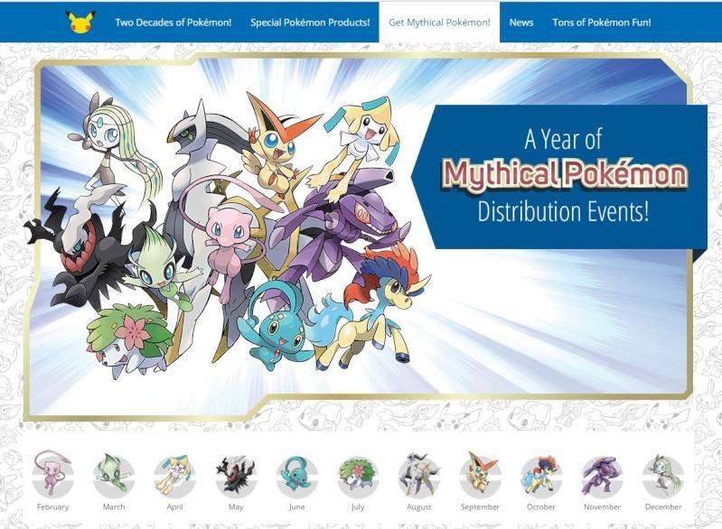 Distribution Officielle Mondiale MEW Pokemon 20 ans... sauf la France ?!! EDIT : Tuto dispo pour récupérer Mew Captur10