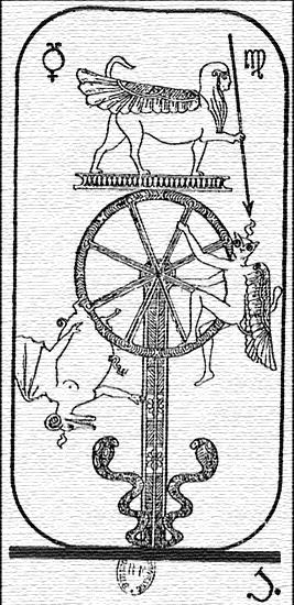 Code sacré du Tarot de Marseille - Explication des Arcanes et leur origine 01010