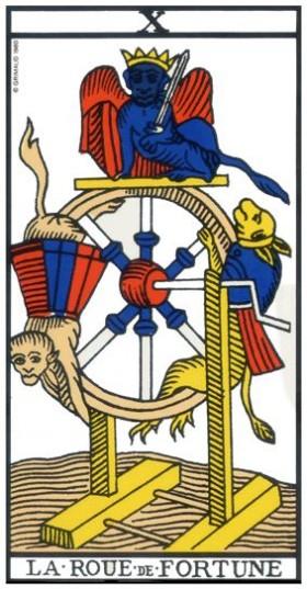 Code sacré du Tarot de Marseille - Explication des Arcanes et leur origine 10-la_10