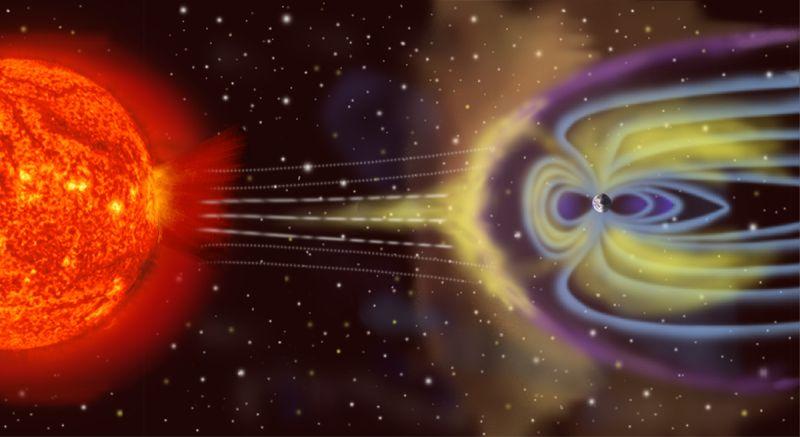 Champ magnétique terrestre : à quand l'inversion des pôles ?  1158