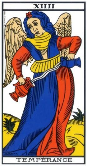 Code sacré du Tarot de Marseille - Explication des Arcanes et leur origine - Page 2 14-tem10