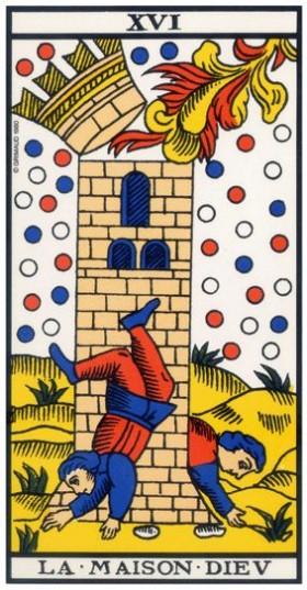 Code sacré du Tarot de Marseille - Explication des Arcanes et leur origine - Page 2 16-la_10