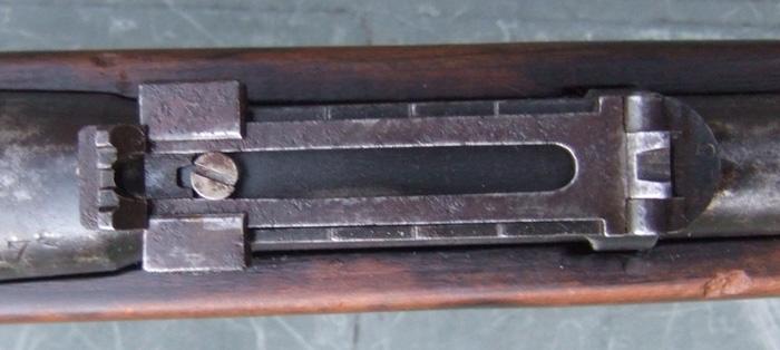 jeu latéral de la hausse sur un lebel 1886 Hausse10