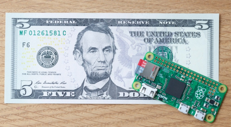 [Pi] News... Le Raspberry Pi Zéro est là... 08258910