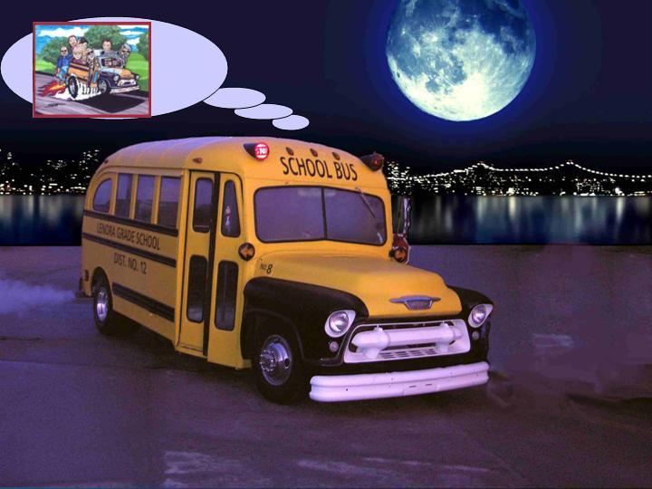 anniv' à schoolbus 19552010