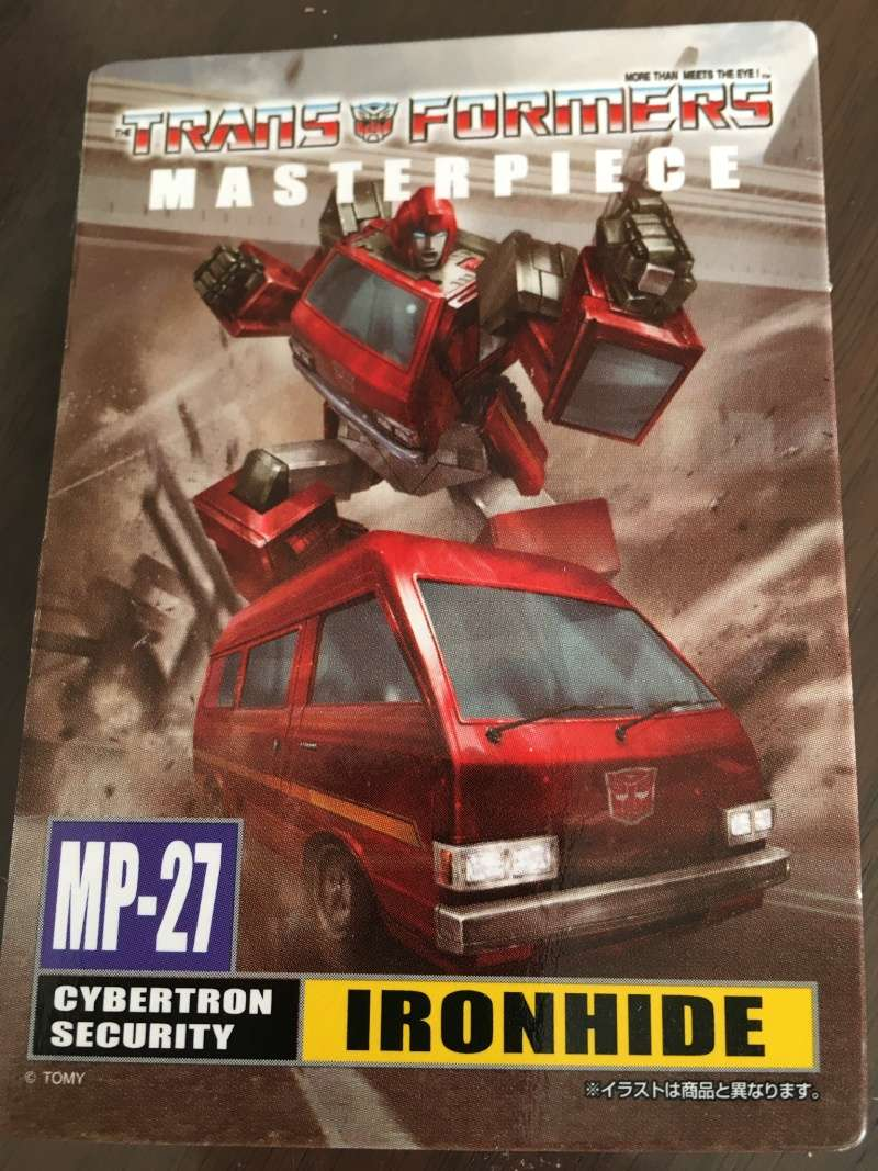 [Masterpiece] MP-27 Ironhide/Rhino - Page 4 01a63f10