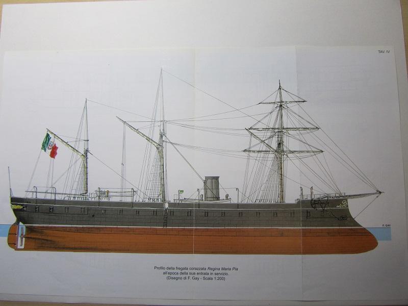 CORAZZATA - fregata corazzata regina Maria Pia Img_4211