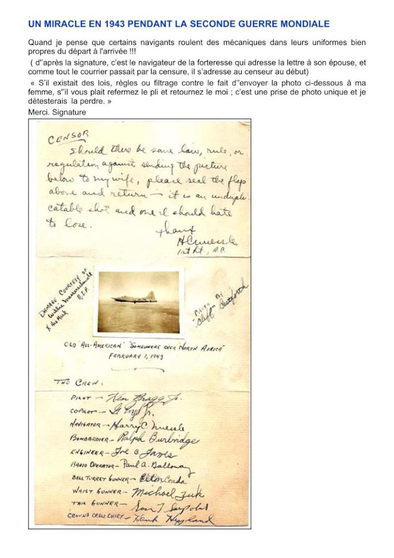 UN MIRACLE EN 1943 PENDANT LA SECONDE GUERRE MONDIALE  Miracl10