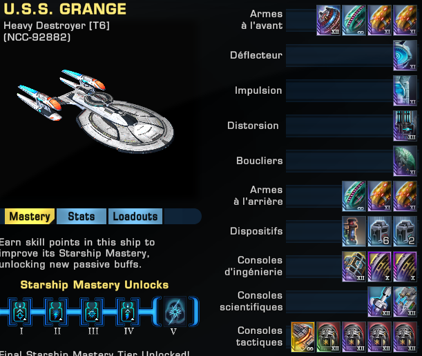 Heavy - Heavy Destroyer - Config torpilleur transphasique scientifique +10K DPS Captu107