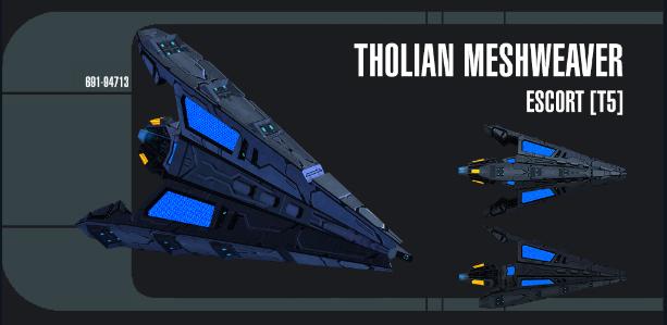 Tholian Meshweaver Escort - Spécifications Captu130