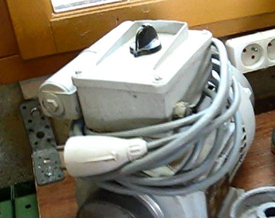 Cablage moteur scie kity 220 mono Moteur10