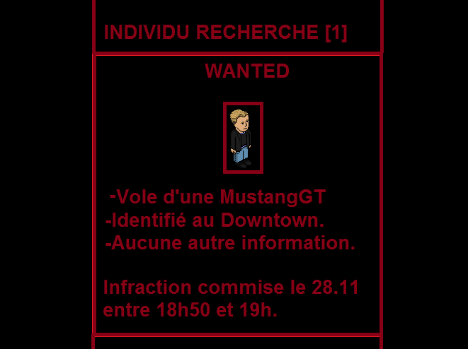 Personnes WANTED Wanted10