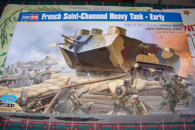 St Chamond Hobby Boss 1/35 (Fini ) 100_0126