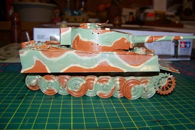 Tigre I ausf E 1/35 100_0150
