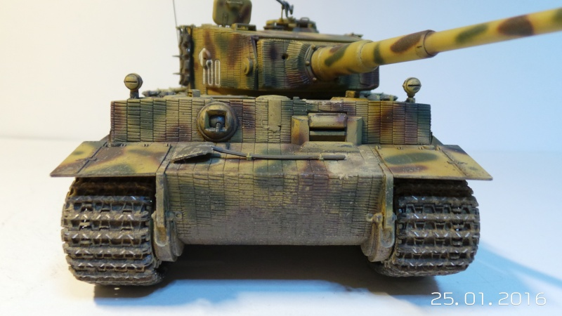 Pz.Kpfw. VI - TIGER I Ausf E  ITALERI 6507 1/35 20160114