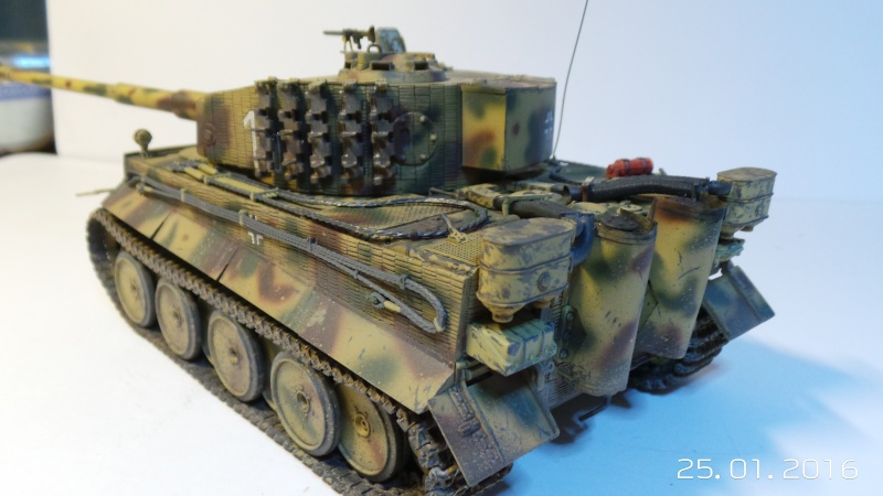 Pz.Kpfw. VI - TIGER I Ausf E  ITALERI 6507 1/35 20160116
