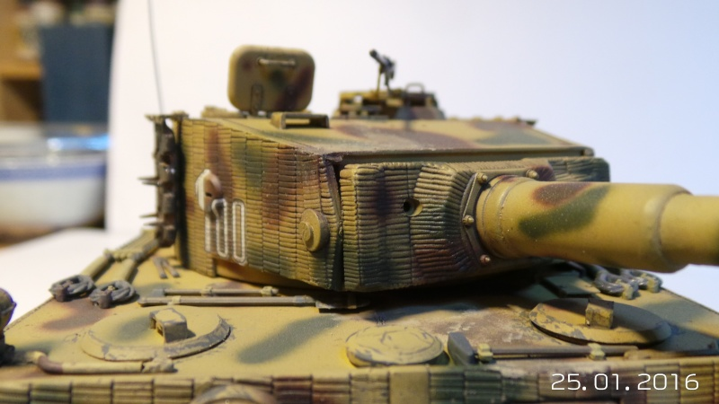 Pz.Kpfw. VI - TIGER I Ausf E  ITALERI 6507 1/35 20160121
