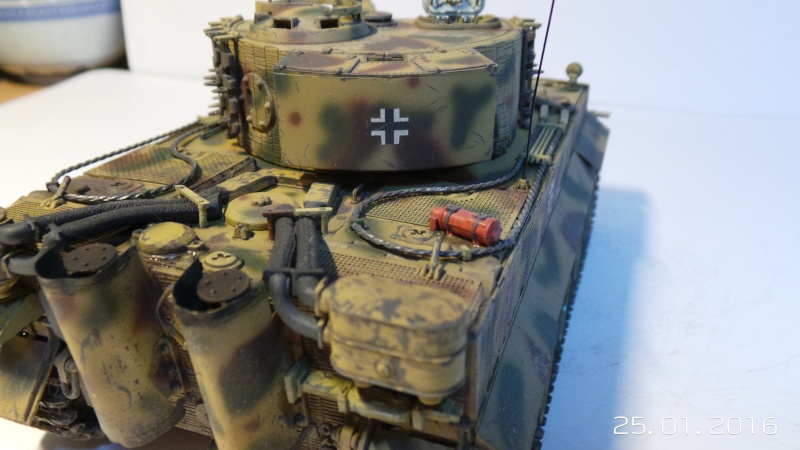 Pz.Kpfw. VI - TIGER I Ausf E  ITALERI 6507 1/35 20160122