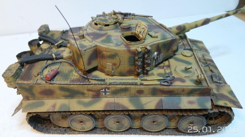 Pz.Kpfw. VI - TIGER I Ausf E  ITALERI 6507 1/35 20160124