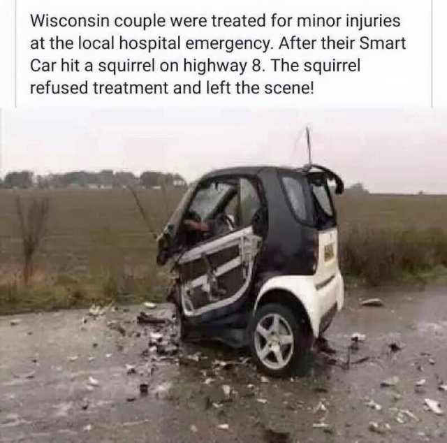 Smart Car Accident 12342410