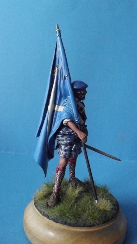 Clansman with Flag 150