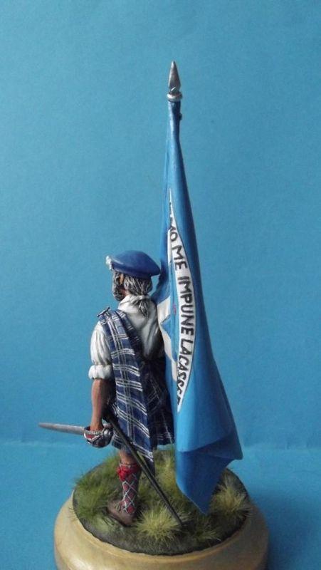 Clansman with Flag 151