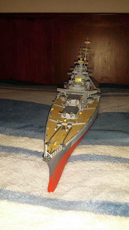 Mein erstes Modell mit Ätzteilen - Bismarck, Revell 1:350 23962810