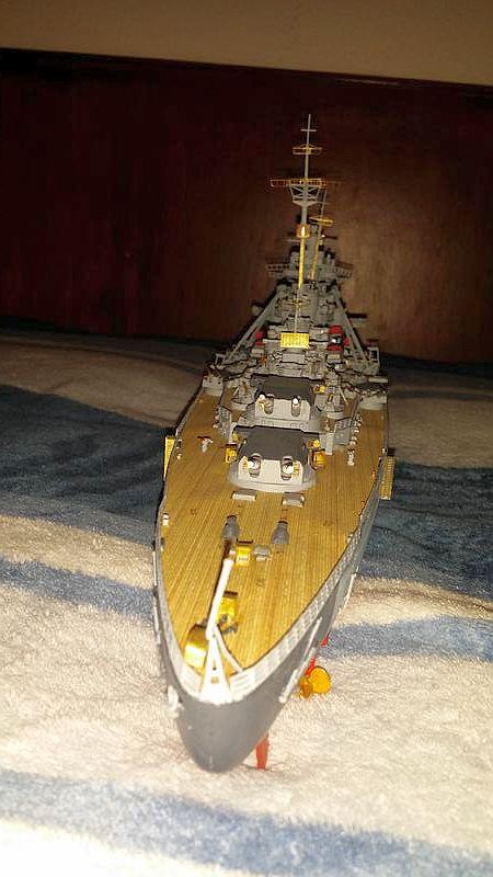 Mein erstes Modell mit Ätzteilen - Bismarck, Revell 1:350 23962811
