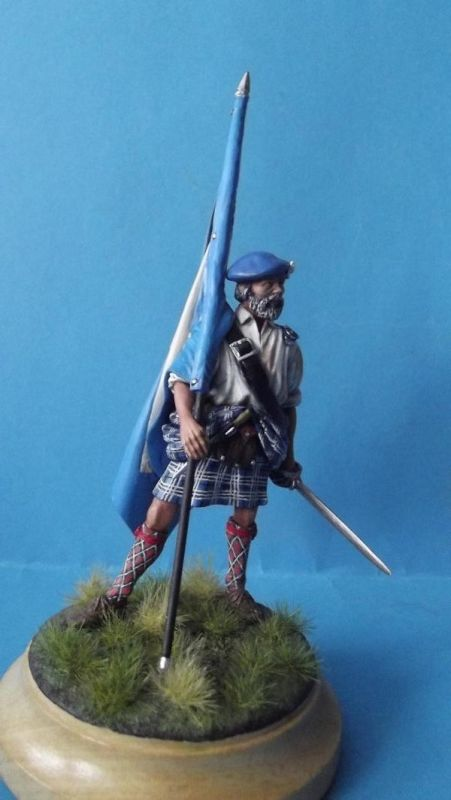 Clansman with Flag 241