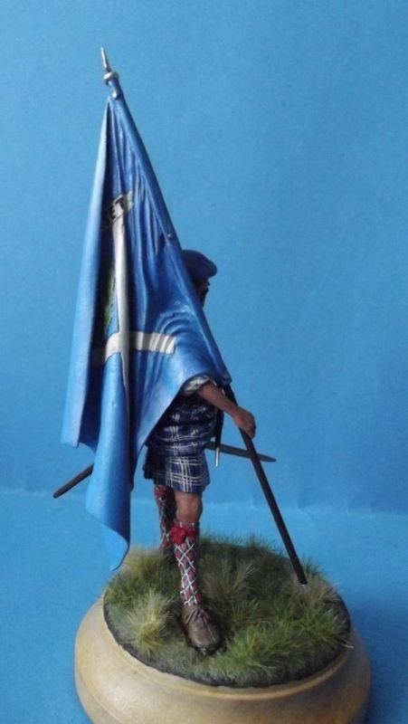 Clansman with Flag 242
