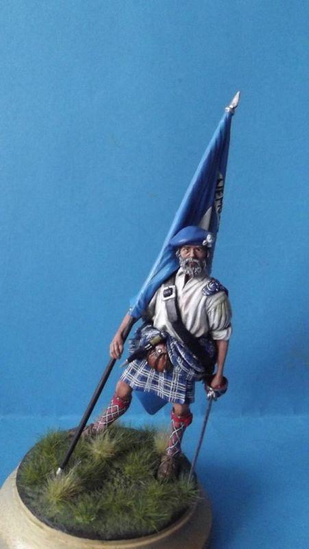 Clansman with Flag 334
