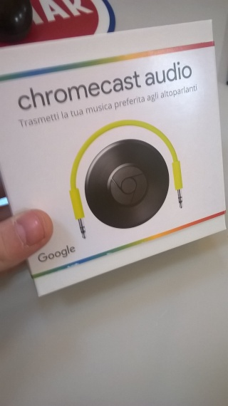 CHROMECAST AUDIO Wp_20112