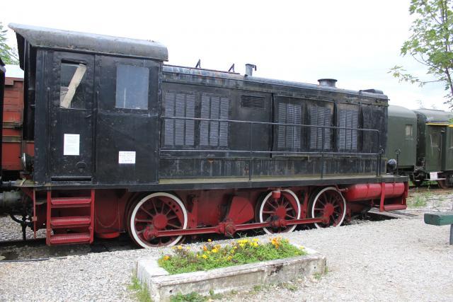 Artillerie en production - Canon Leopold et locomotive C12 Trumpeter - 1/35 Cfthq210
