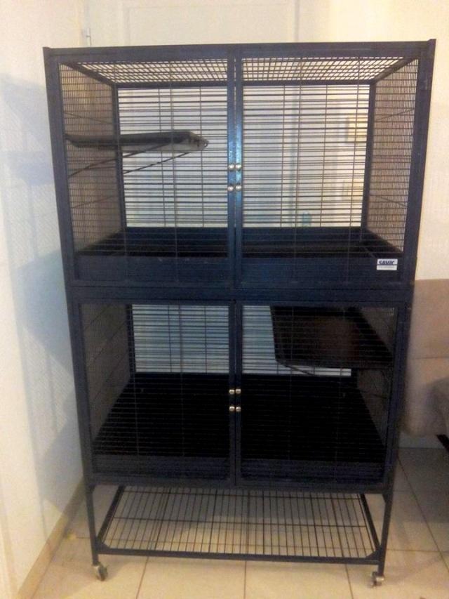 Vend cage Suite Royale double de Savic 12273010