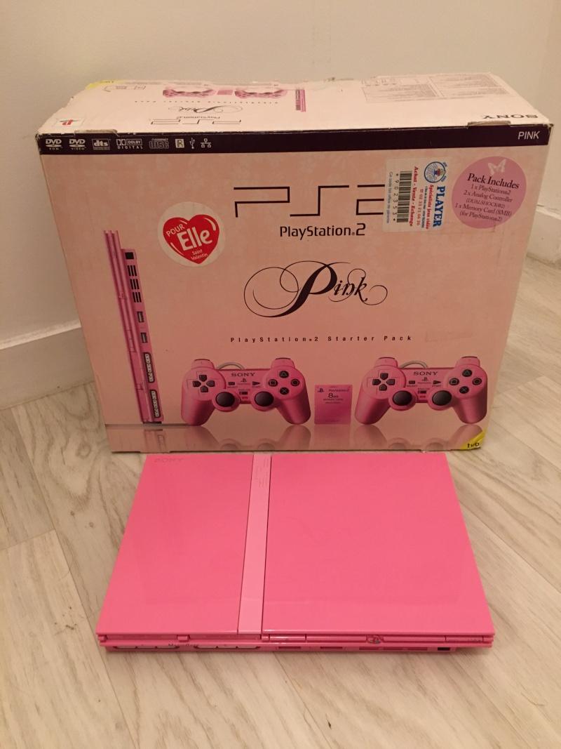 [VDS] Playstation 2 Pink / PS2 Two Rose complète en boite Img_1816