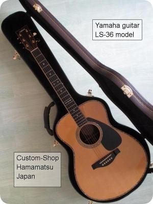 Le modèle LS 36 du Custom-Shop de chez Yamaha Yamaha10