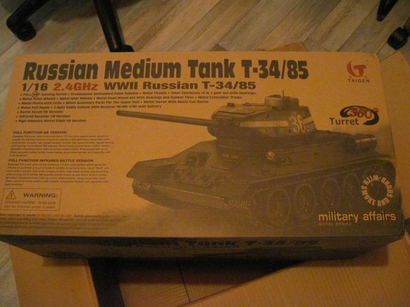 T34/85 Full-Metal con elettronica Taigen 110