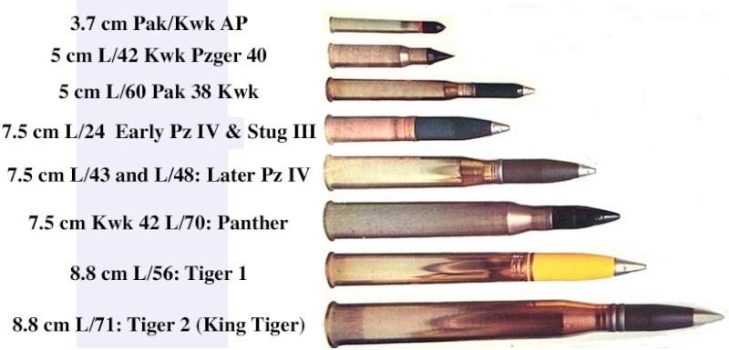 Munizionamento 88 mm 43/71 Post-810