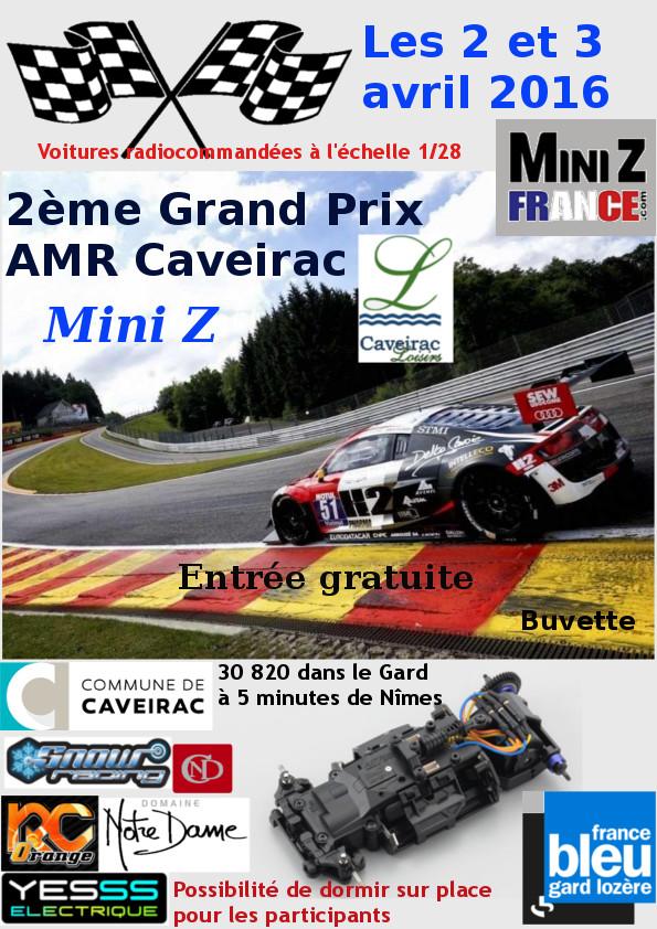 2 et 3 Avril 2016 - AMR Caveirac (30) - 2ème Grand Prix 2016 Affich10