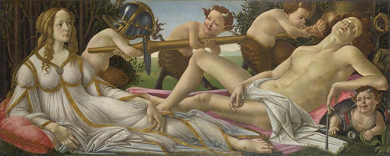 Vénus & Mars (Botticelli) Venus_10