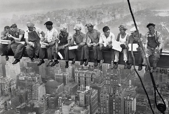 What it was like to build the Empire State Building. Empire10